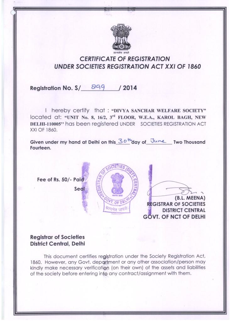 Regtration-Certificate